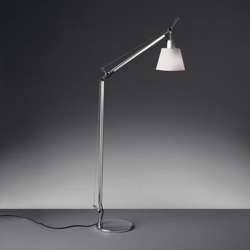 Tolomeo Shade Reading Floor Lamp from Artemide | Modern Lighting + Decor