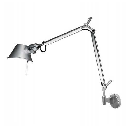 Buy online latest and high quality Tolomeo Micro Wall Light With J Bracket from Artemide | Modern Lighting + Decor