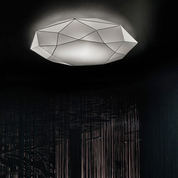 Diamond PP Wall/Ceiling Light from Morosini | Modern Lighting + Decor