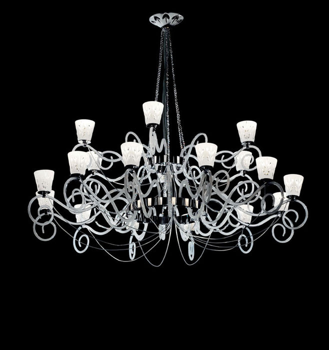 471 Blanche Chandelier from ITALAMP | Modern Lighting + Decor