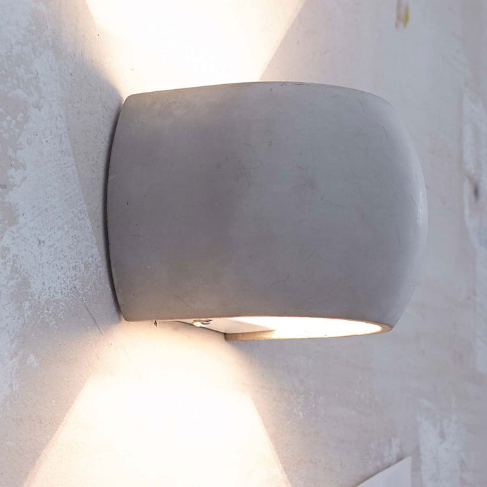 Castle Round Indoor/outdoor Wall Sconce | Modern Lighting + Decor
