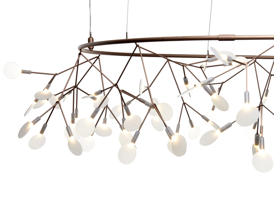 Buy online latest and high quality Heracleum The Big O Chandelier from Moooi | Modern Lighting + Decor