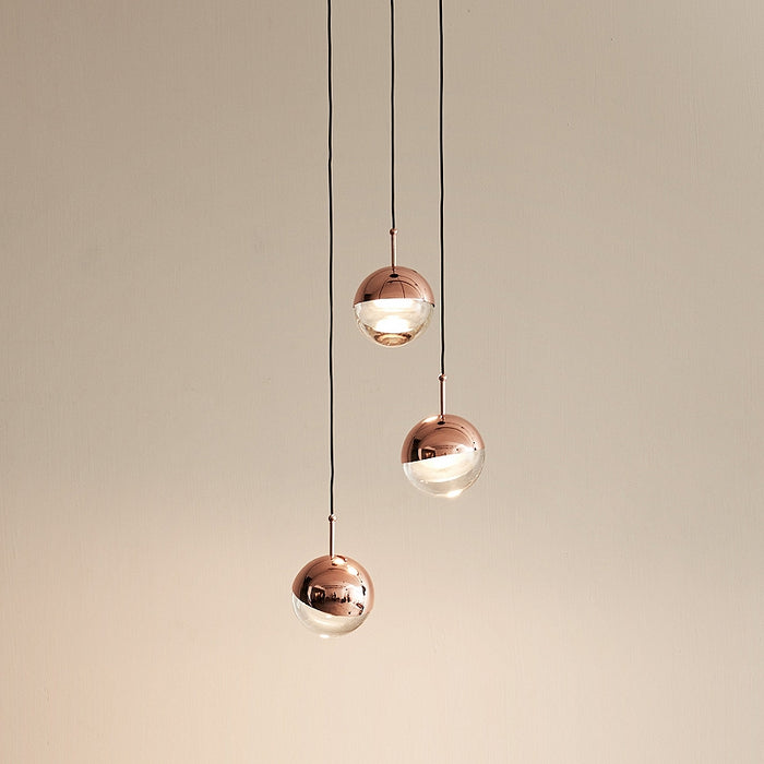 Dora 3 Light Suspension from Seed Design | Modern Lighting + Decor