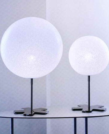 Iceglobe 03 table lamp from Lumen Center Italia | Modern Lighting + Decor