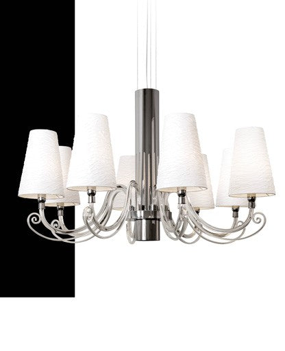 Arabian Pearls 8 Chandelier from Ilfari | Modern Lighting + Decor