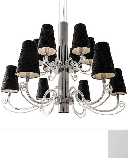 Buy online latest and high quality Arabian Pearls 12 Chandelier from Ilfari | Modern Lighting + Decor