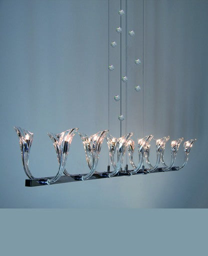 Chill Out 14 Chandelier from Ilfari | Modern Lighting + Decor