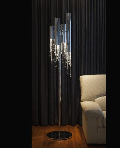 Buy online latest and high quality Sexy Crystals Floor Lamp from Ilfari | Modern Lighting + Decor