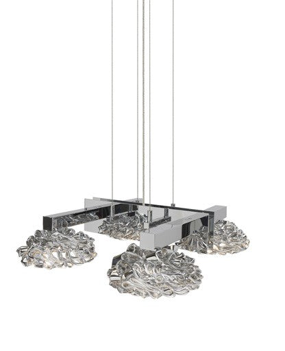 Buy online latest and high quality Flowers From Amsterdam 4 Chandelier from Ilfari | Modern Lighting + Decor