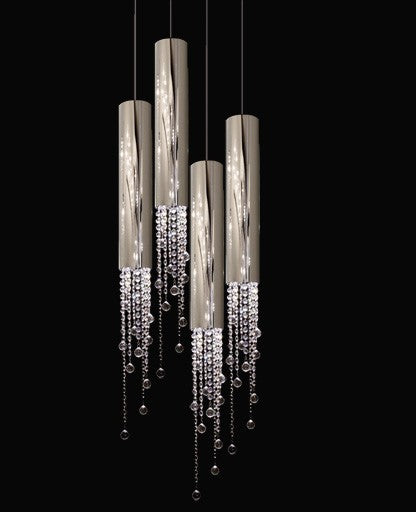 Sexy Crystals 4 Pendant Light from Ilfari | Modern Lighting + Decor