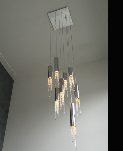 Sexy Crystals 8 Pendant Light from Ilfari | Modern Lighting + Decor