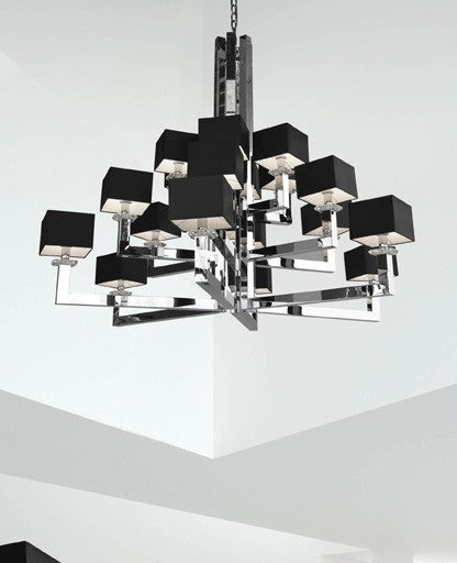 Buy online latest and high quality Swinging Ballet H18 Chandelier from Ilfari | Modern Lighting + Decor