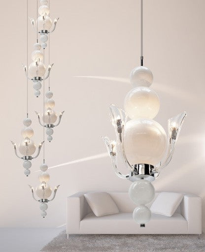 Tears from Moon H4 Chandelier from Ilfari | Modern Lighting + Decor
