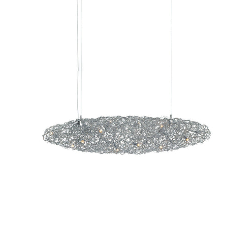 Crystal Waters 100 Chandelier - Cigar from Brand Van Egmond | Modern Lighting + Decor