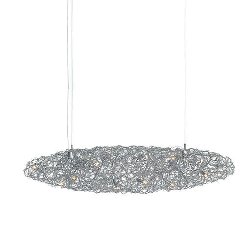 Crystal Waters 160 Chandelier - Cigar from Brand Van Egmond | Modern Lighting + Decor