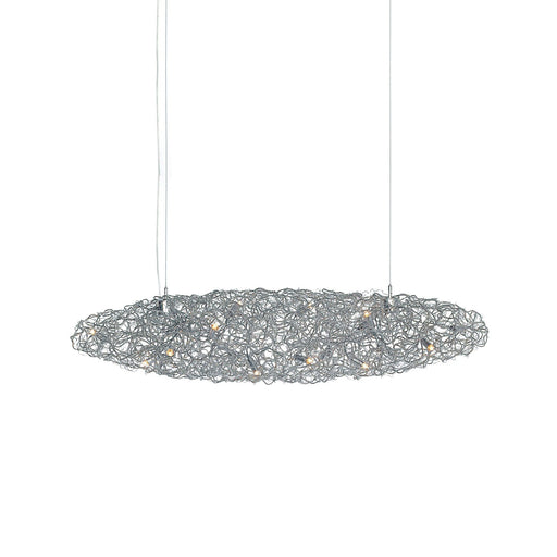 Crystal Waters 130 Chandelier - Cigar from Brand Van Egmond | Modern Lighting + Decor