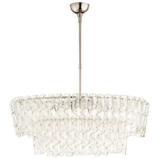 Cannoli Ovular Chandelier | Modern Lighting + Decor