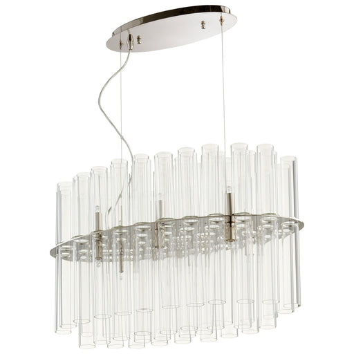 Beaker Linear Chandelier | Modern Lighting + Decor