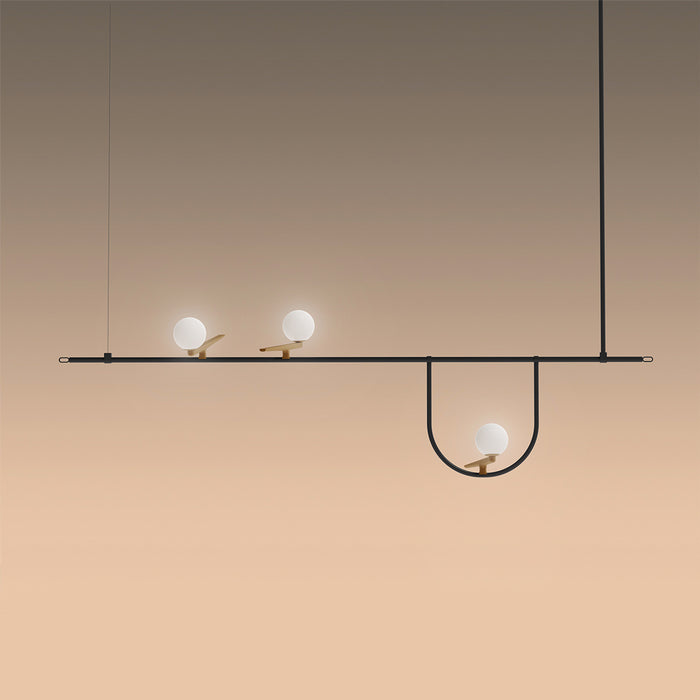 Buy online latest and high quality Yanzi Pendant Light from Artemide | Modern Lighting + Decor