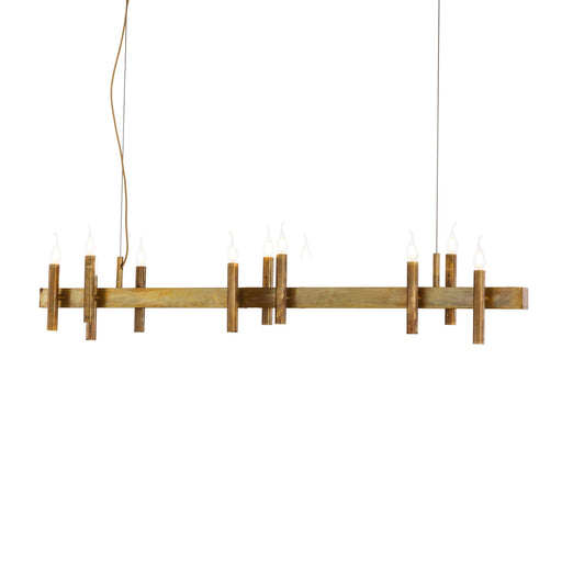 Shiro Horizontal 12 Lights Pendant Light from Brand Van Egmond | Modern Lighting + Decor