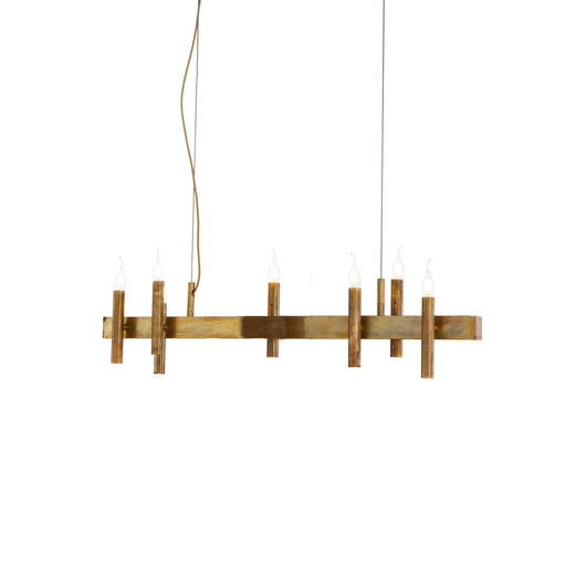 Shiro Horizontal 8 Lights Pendant Light from Brand Van Egmond | Modern Lighting + Decor
