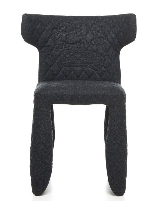 Buy online latest and high quality Monster Divina Melange Side Chair With Embroidery And Arms from Moooi | Modern Lighting + Decor