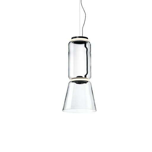 Buy online latest and high quality Noctambule Low Cylinder and Cone LED Pendant Light from Flos | Modern Lighting + Decor