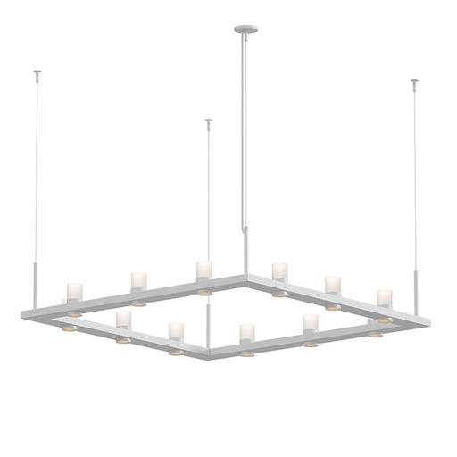 Intervals Square Pendant Light | Modern Lighting + Decor