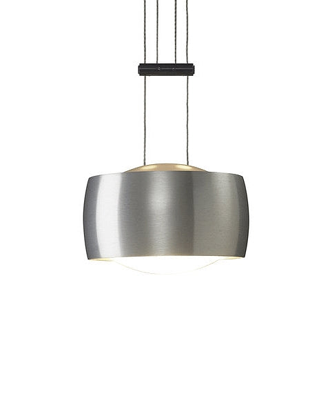 Grace single pendant light - Adjustable Height from Oligo | Modern Lighting + Decor