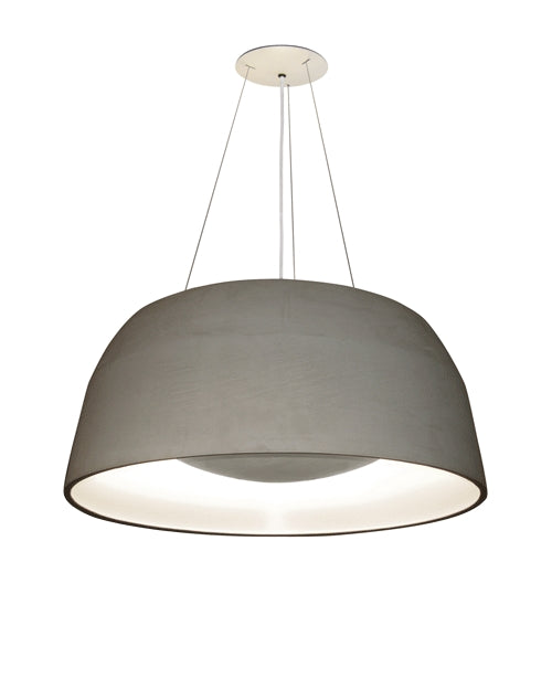Ebbygo Pendant Light - Concrete/White from Oligo | Modern Lighting + Decor
