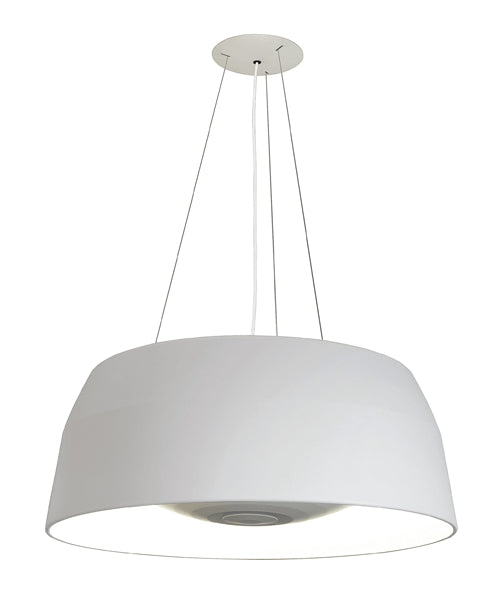 Ebbygo Pendant Light - White/White from Oligo | Modern Lighting + Decor