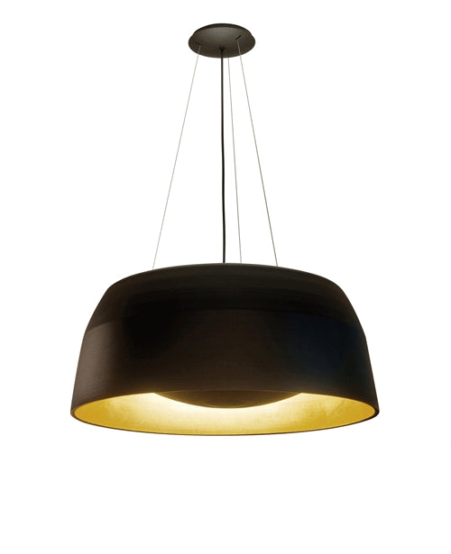 Ebbygo Pendant Light - Black/Matt Gold from Oligo | Modern Lighting + Decor