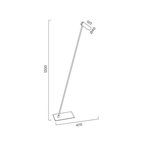 Buy online latest and high quality Tub P-45 Floor Lamp from Pujol Iluminacion | Modern Lighting + Decor