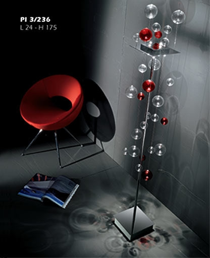 Niagara floor lamp Pl 3/236 from Sillux | Modern Lighting + Decor
