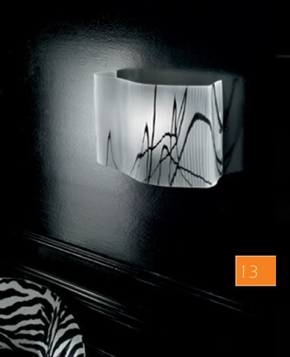 Venezia wall sconce LP 6/238 from Sillux | Modern Lighting + Decor
