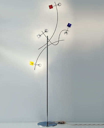 Barcelona floor lamp Pl 3/229 from Sillux | Modern Lighting + Decor