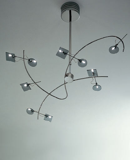 Barcelona chandelier SP 8/229 from Sillux | Modern Lighting + Decor