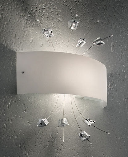 Carrara Wall Sconce LP 6/255 from Sillux | Modern Lighting + Decor