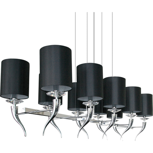 Buy online latest and high quality Loving Arms 10 Chandelier from Ilfari | Modern Lighting + Decor