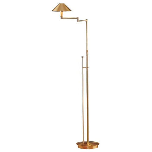 Buy online latest and high quality Aging Eye Metal Shade Swing Arm Floor Lamp from Holtkotter | Modern Lighting + Decor