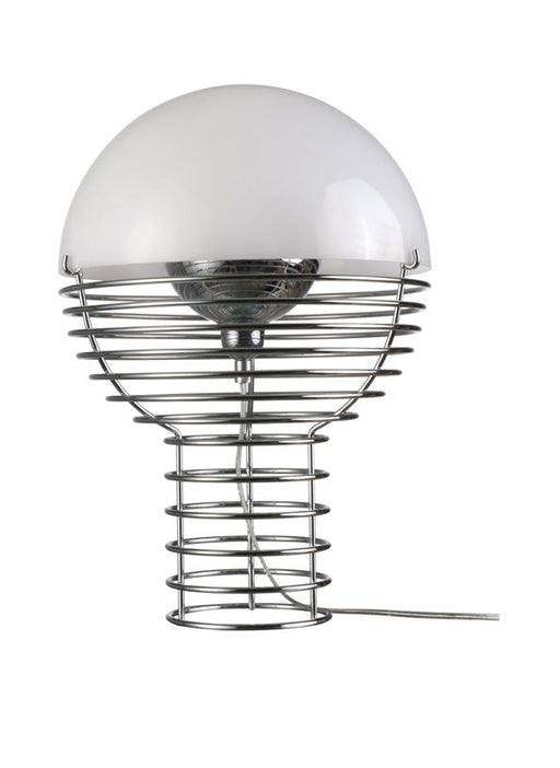 Wire Table Lamp - Small from Verpan | Modern Lighting + Decor