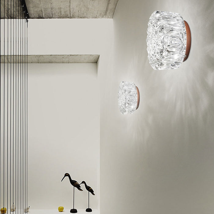 8150 Diamante Wall Lamp from ITALAMP | Modern Lighting + Decor
