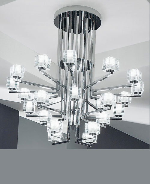 Otto X Otto K Chandelier from De Majo | Modern Lighting + Decor