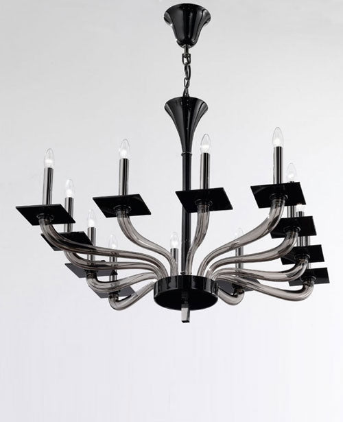 Tetra K12 Chandelier from De Majo | Modern Lighting + Decor