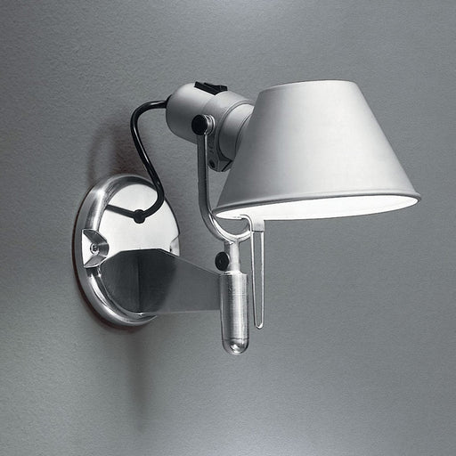 Buy online latest and high quality Tolomeo Classic Led Wall Spot With Switch from Artemide | Modern Lighting + Decor
