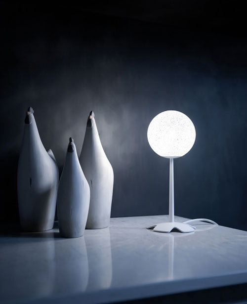 Iceglobe Micro 03 table lamp from Lumen Center Italia | Modern Lighting + Decor
