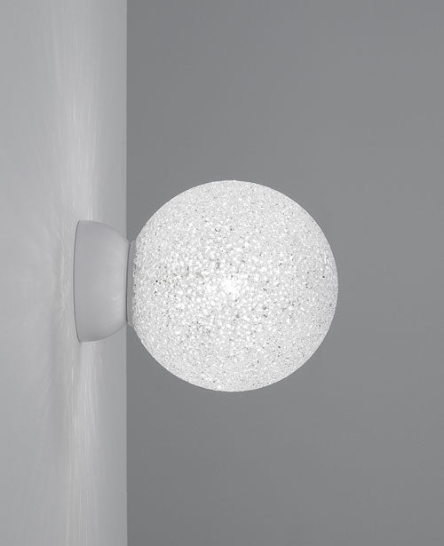 Iceglobe Micro 21 wall or ceiling light from Lumen Center Italia | Modern Lighting + Decor