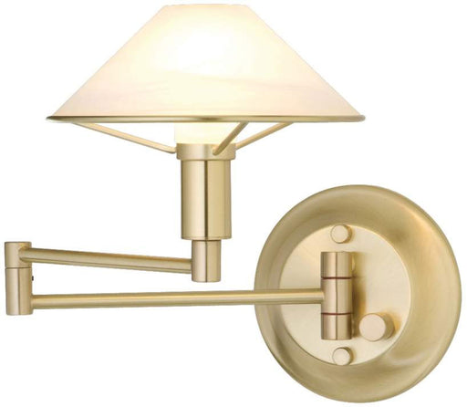 Buy online latest and high quality Aging Eye Glass Shade Swing Arm Wall Light from Holtkotter | Modern Lighting + Decor