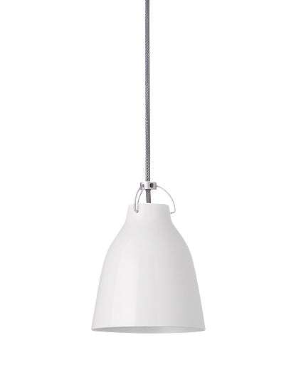 Caravaggio White Pendant Light from Lightyears | Modern Lighting + Decor
