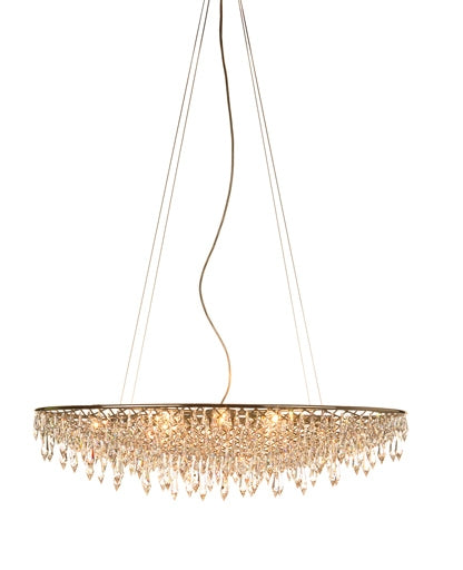 Buy online latest and high quality Rain chandelier - oval from Anthologie Quartett | Modern Lighting + Decor